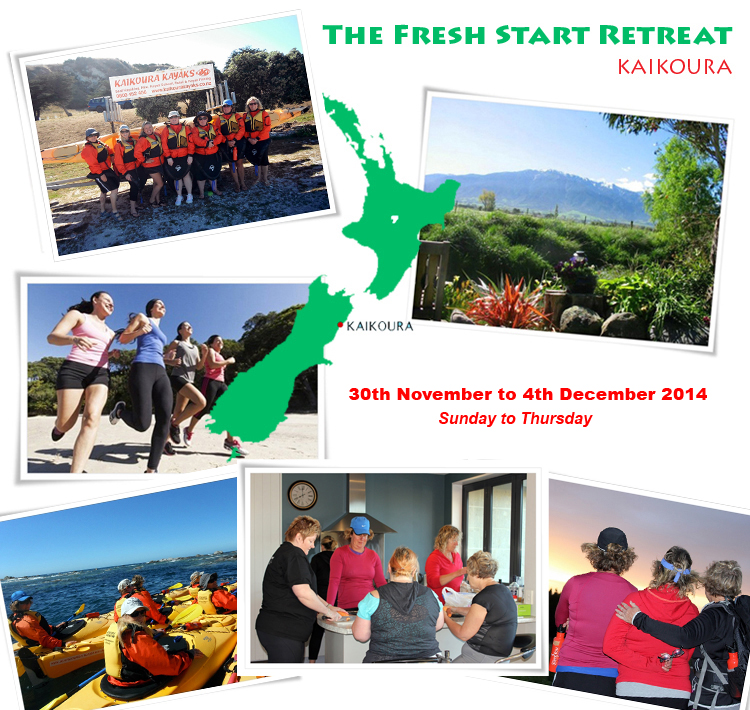 the fresh start retreat