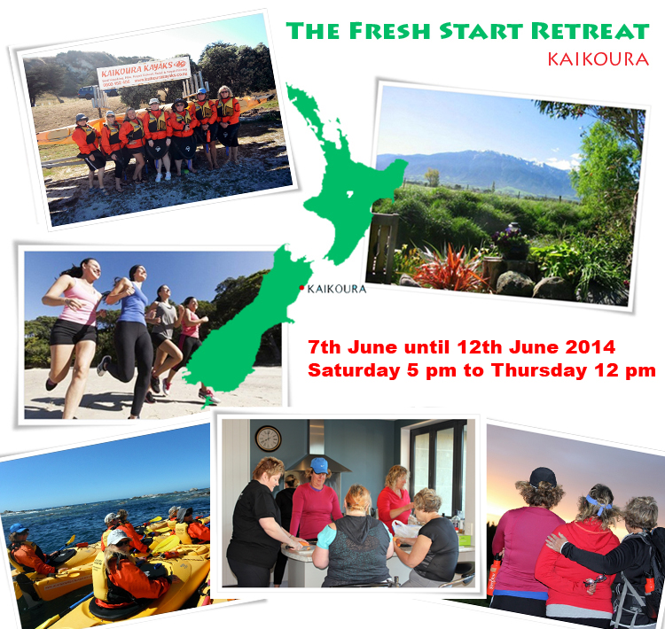 the fresh start retreat